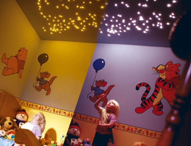 KIDS BEDROOM STAR CEILING 2