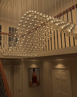 Glass Ball chandeliers